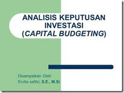 Advanced Budgeting & Cost Control