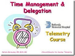 DELEGATION AND TIME MANAGEMENT