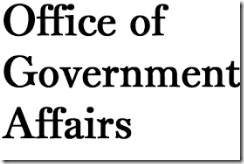 GOVERNMENT AFFAIR