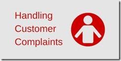 handling Customer Complaint