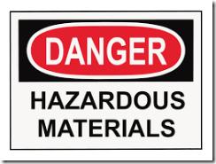 HAZARDOUS MATERIAL SAFE HANDLING