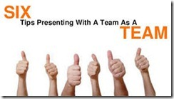 Presenting to a Team